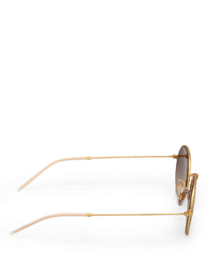 RAY-BAN: occhiali da sole online - Occhiali da sole tondi dorati