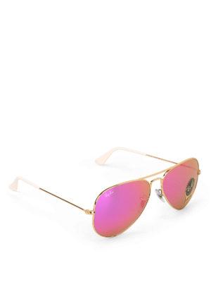 RAY-BAN: occhiali da sole - Occhiali da sole Aviator dorati