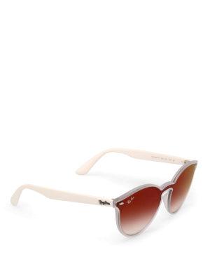 RAY-BAN: occhiali da sole - Occhiali da sole Blaze bianco opaco