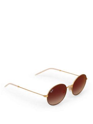 RAY-BAN: occhiali da sole - Occhiali da sole tondi dorati
