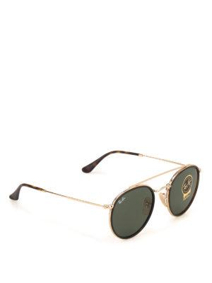 RAY-BAN: occhiali da sole - Occhiali da sole Round doppio ponte