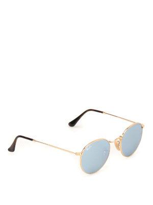 RAY-BAN: occhiali da sole - Occhiali da sole Round dorati
