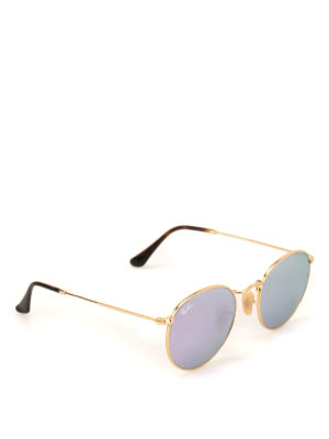 RAY-BAN: occhiali da sole - Occhiali da sole Round color oro