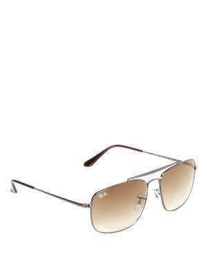 Ray Ban: sunglasses - The Colonel dark grey sunglasses