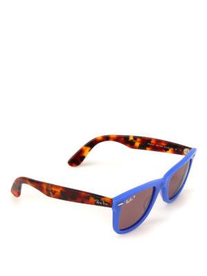 RAY-BAN: occhiali da sole - Occhiali da sole Wayfarer blu
