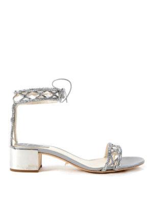 Rene Caovilla: sandals - Crystal embellished sandals