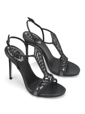 Rene Caovilla: sandals online - Geometric jewel design sandals