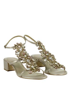 Rene Caovilla: sandals online - Jewel applique detailed sandals