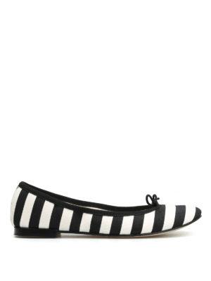 Repetto: flat shoes - Cendrillon striped ballerinas