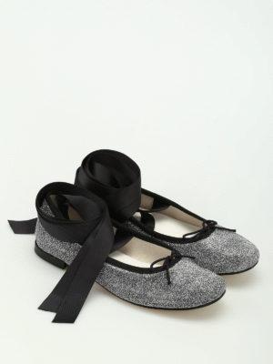 Repetto: flat shoes online - Anna grosgrain bands flats