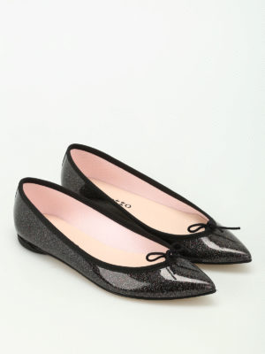 Repetto: flat shoes online - Brigitte glittered ballerinas
