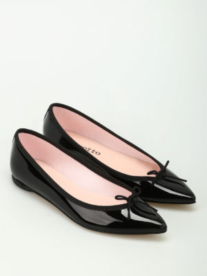 Repetto: flat shoes online - Brigitte patent leather ballerinas