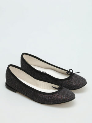 Repetto: flat shoes online - Cendrillon glitter ballerinas