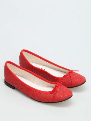 Repetto: flat shoes online - Cendrillon glitter ballerinas