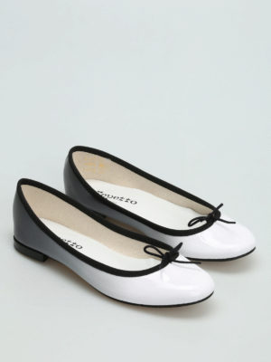 Repetto: flat shoes online - Cendrillon shaded patent ballerinas
