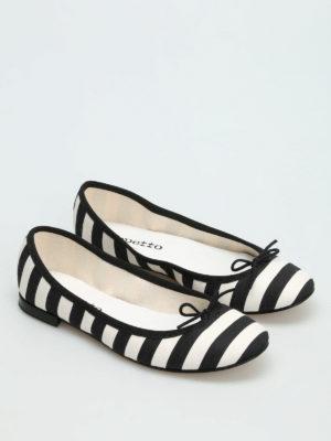 Repetto: flat shoes online - Cendrillon striped ballerinas