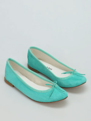 Repetto: flat shoes online - Cendrillon suede ballerinas