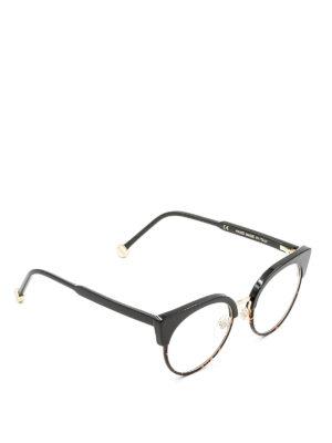 Retrosuperfuture: glasses - Numero 30 havana half-frame glasses