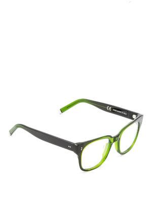 Retrosuperfuture: glasses - Numero 8 1/2 green acetate glasses