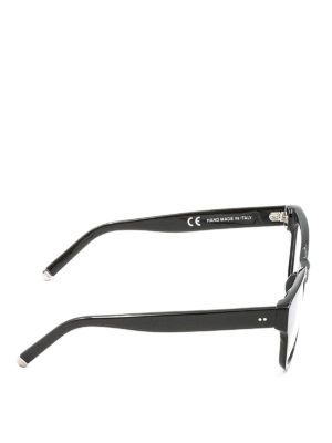Retrosuperfuture: glasses online - Numero 8 1/2 black acetate glasses
