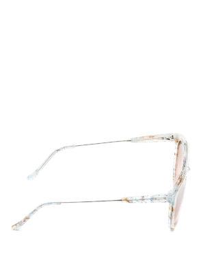 Retrosuperfuture: sunglasses online - Giaguaro shimmering sunglasses