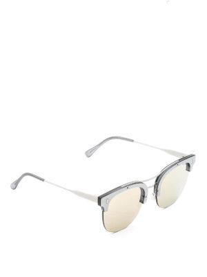 Retrosuperfuture: sunglasses - Strada half-frame sunglasses