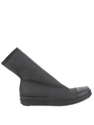Rick Owens: ankle boots - Scuba leg ankle boots