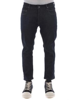 Rick Owens: straight leg jeans online - Stretch denim jeans
