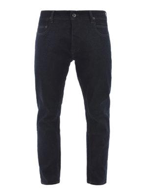 Rick Owens: straight leg jeans - Stretch denim jeans