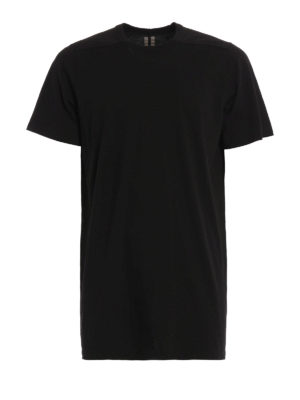 Rick Owens: t-shirts - Level jersey long T-shirt