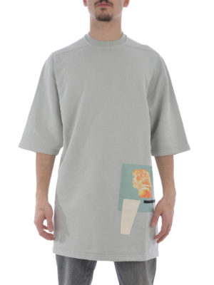 Rick Owens: t-shirts online - Oversized cotton T-shirt