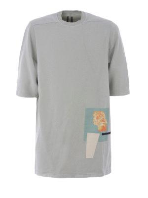 Rick Owens: t-shirts - Oversized cotton T-shirt