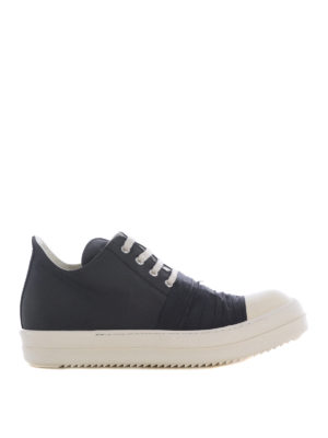 Rick Owens: trainers - Canvas nylon and leather sneakers