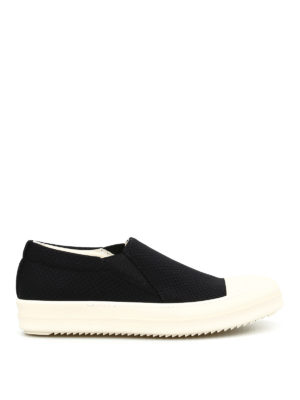 Rick Owens: trainers - DRKSHDW drilled canvas slip-ons