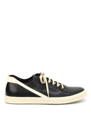 Rick Owens: trainers - Geotrasher leather sneakers