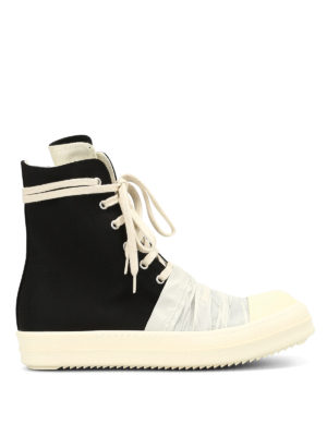 Rick Owens: trainers - Hig-top fabric trainers