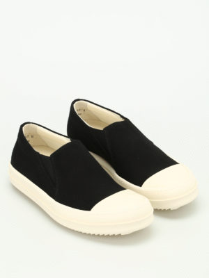 Rick Owens: trainers online - Canvas slip-ons
