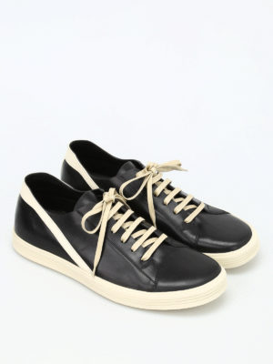 Rick Owens: trainers online - Geotrasher leather sneakers