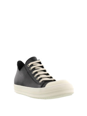 Rick Owens: trainers online - Leather toe-cap sneakers