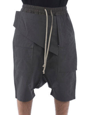 Rick Owens: Trousers Shorts online - Cotton cargo shorts