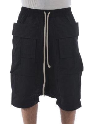 Rick Owens: Trousers Shorts online - Cotton cargo shorts