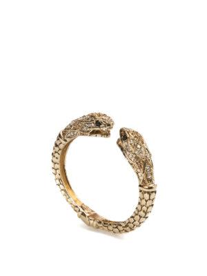 Roberto Cavalli: Bracelets & Bangles - Luxury Serpent bangle