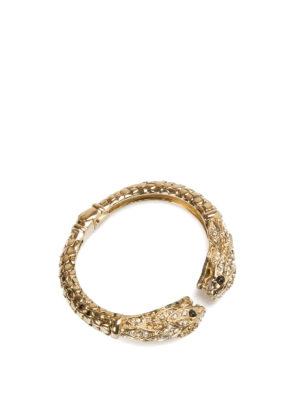 Roberto Cavalli: Bracelets & Bangles online - Luxury Serpent bangle