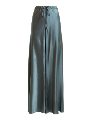 ROBERTO CAVALLI: casual trousers - Wide leg viscose trousers