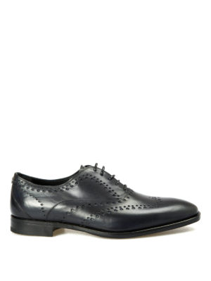 Roberto Cavalli: classic shoes - Leather Oxford brogue