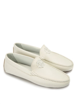 Roberto Cavalli: Loafers & Slippers online - Signature leather loafers