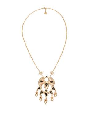 Roberto Cavalli: Necklaces & Chokers - Ethnic Deco pendant