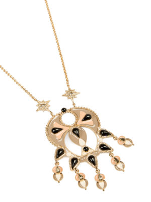Roberto Cavalli: Necklaces & Chokers online - Ethnic Deco pendant