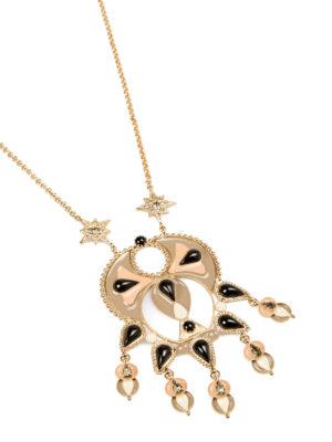 Roberto Cavalli: Necklaces & Chokers online - Ethnic Deco pendant