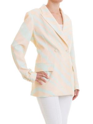ROBERTO CAVALLI: giacche blazer online - Blazer doppiopetto Heritage Zebra